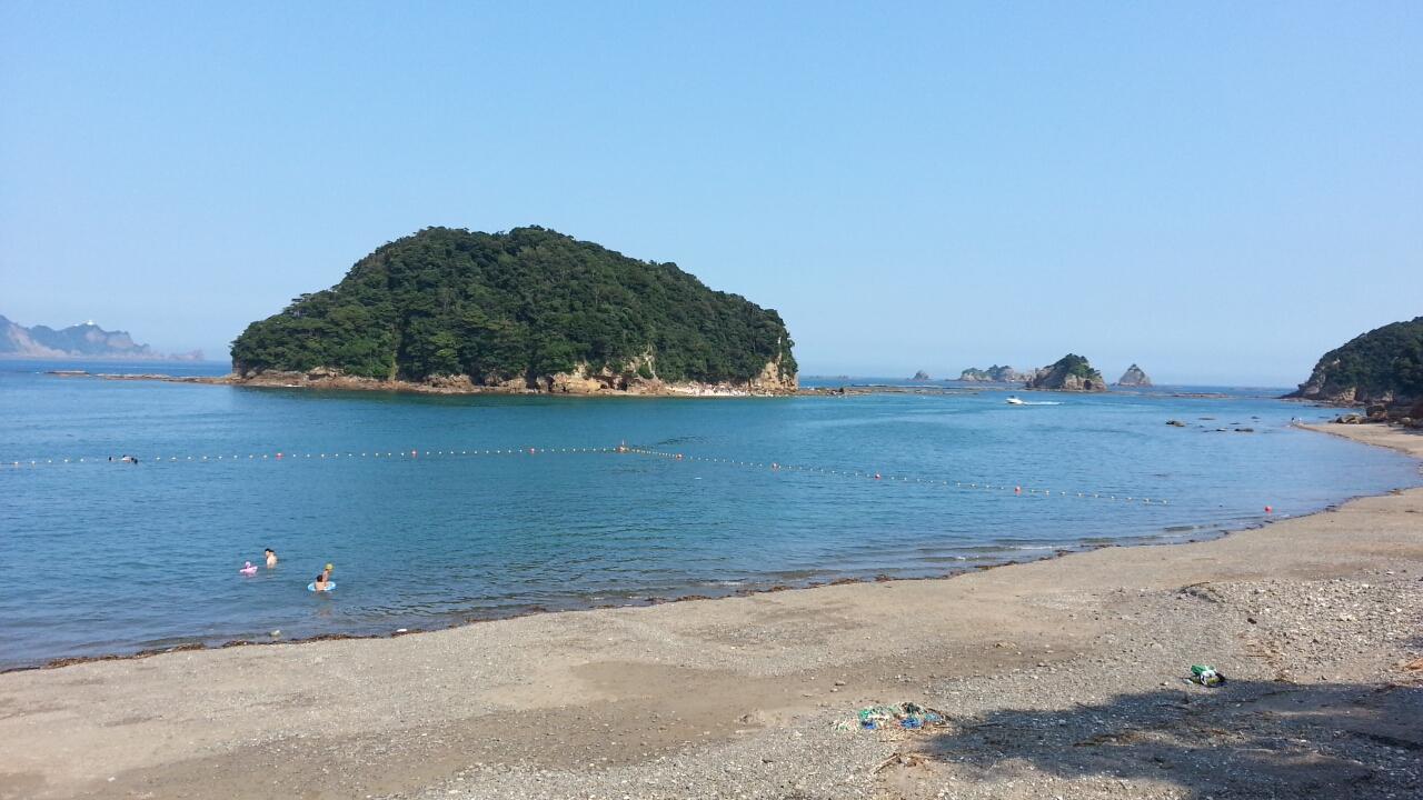 栄浜ビーチ 瀬渡し