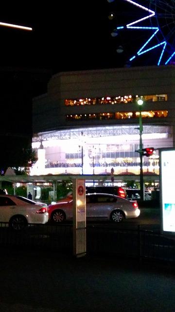 アミュプラザ点灯式 遠目から撮影