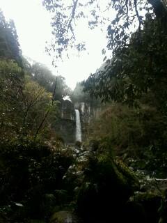 犬飼の滝は絶景です