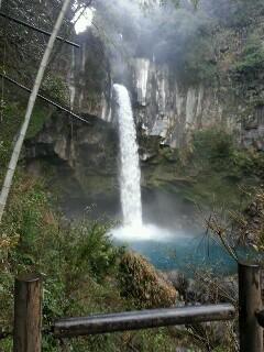 犬飼の滝は絶景です。滝壺がありました。その2
