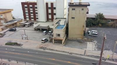 ④桜島シーサイドホテルの外観
