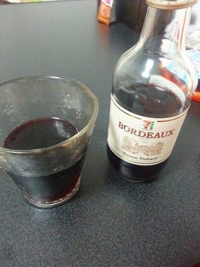 セブンイレブンのボルドーワインはいかがなものか?
