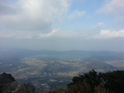 開聞岳頂上景色1