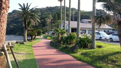栄浜ビーチ 入口
