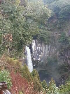 犬飼の滝は絶景です。上からの景色です。