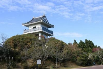 大河ドラマ真田丸とは全く関係ないですが、万木城跡です。