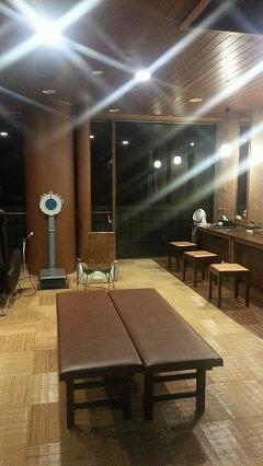 ③鹿児島温泉こらん の湯錦江楼、こらん湯の脱衣所も綺麗です