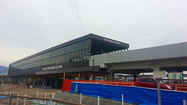 新しい谷山駅