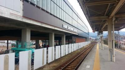 今の谷山駅のホームから撮影