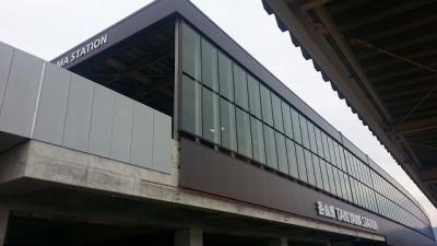 今の谷山駅のホームから撮影その2