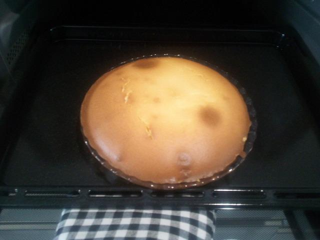 ビストロBS2700でチーズケーキを作った